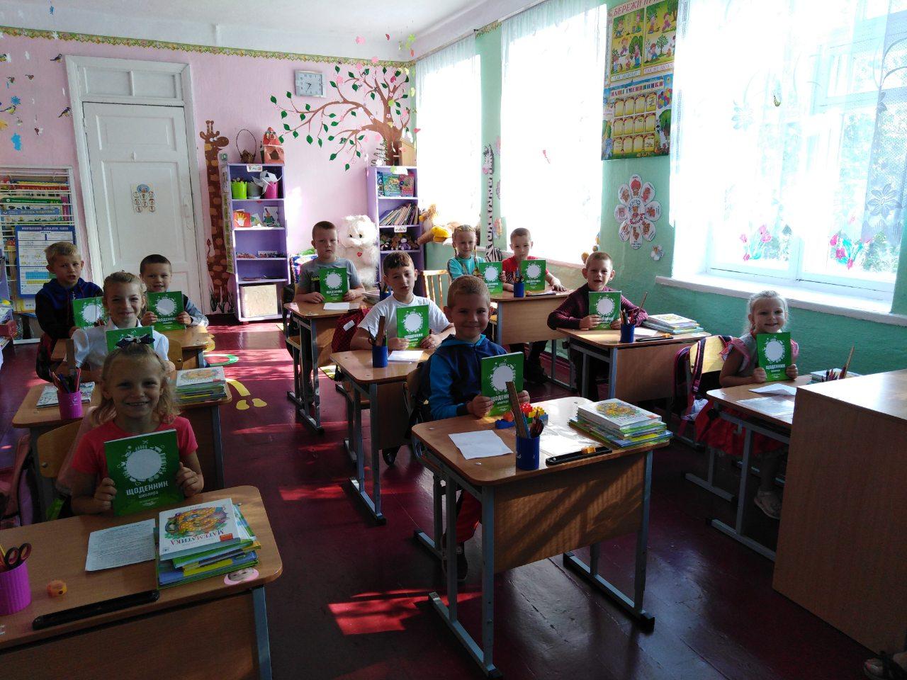 Школьники получили дневники серии «Мир аграрных профессий»
